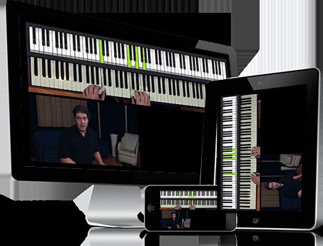 leer online piano spelen gratis proefles